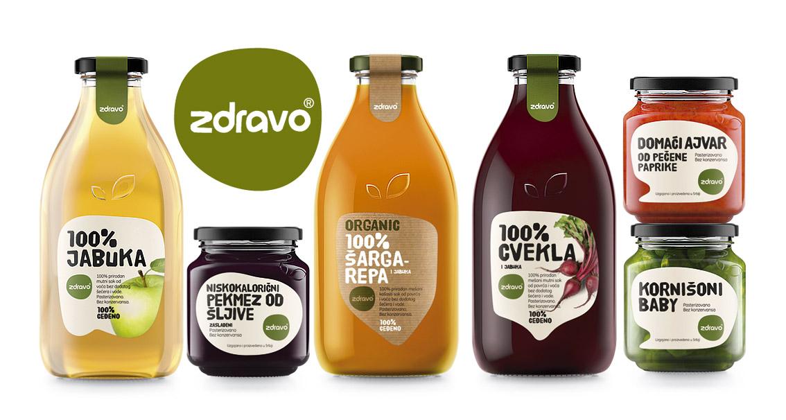 Organic Food Company Organic Food Packaging Design